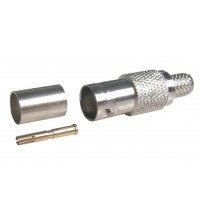 BNC Female Crimp RG-6 Connector (BNC-FC-6)