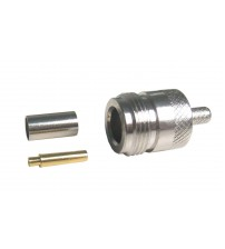 N-Female Crimp Connector for RG-58 Cable (N-FC58)